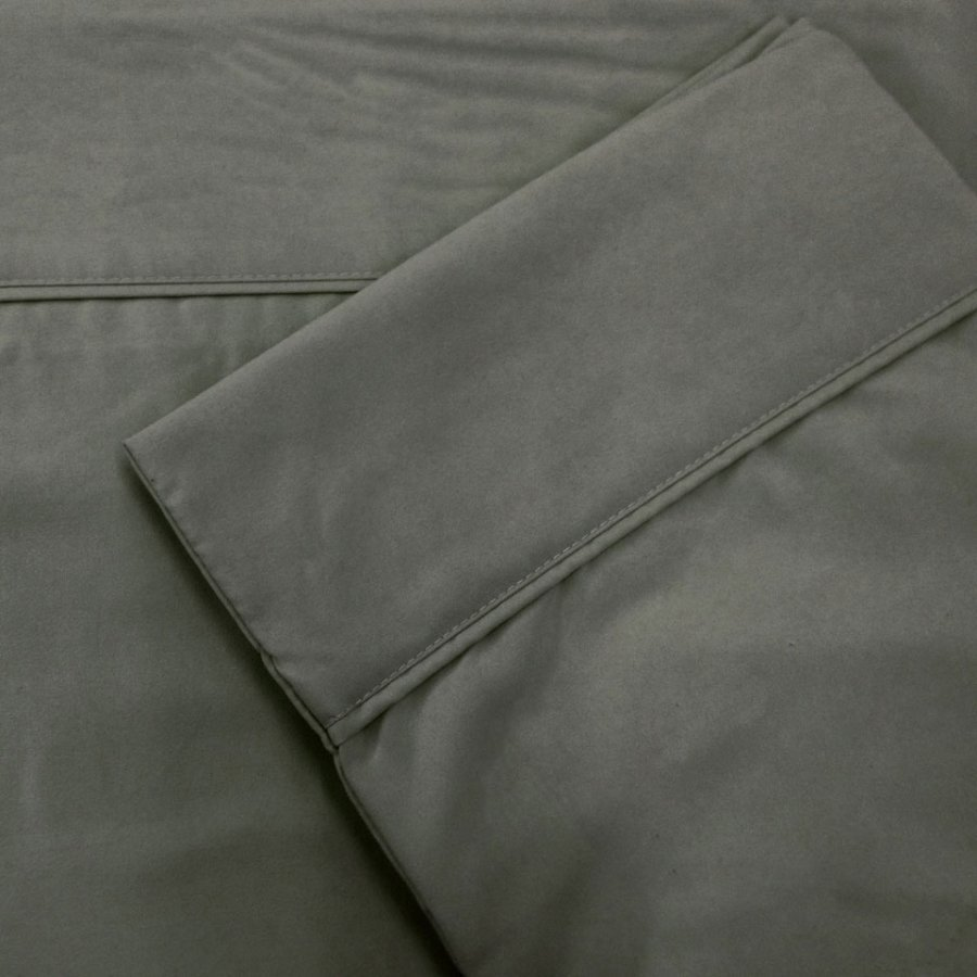 Ensemble de draps charcoal disponible pour lit simple double queen et king - Ensemble draps lit double ...